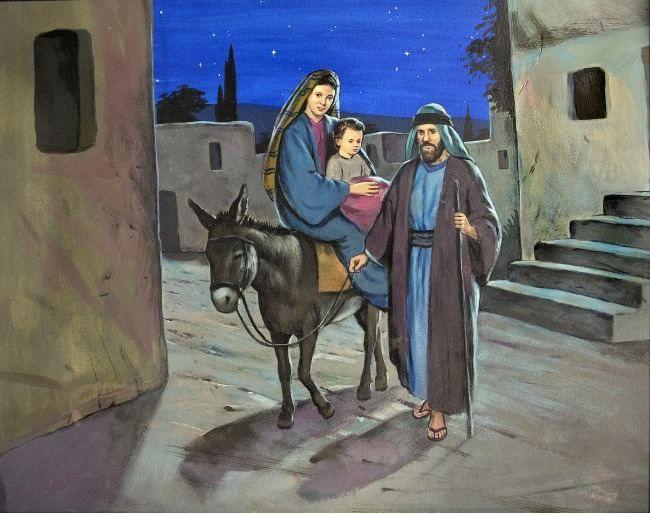 Bible Slideshow The Flight Into Egypt Children S Bible