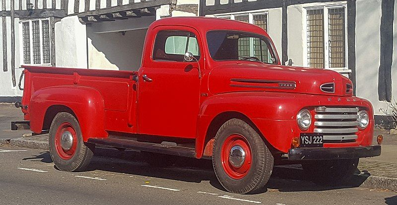 Ford F Series First Generation Wikipedia Ford F Series Ford