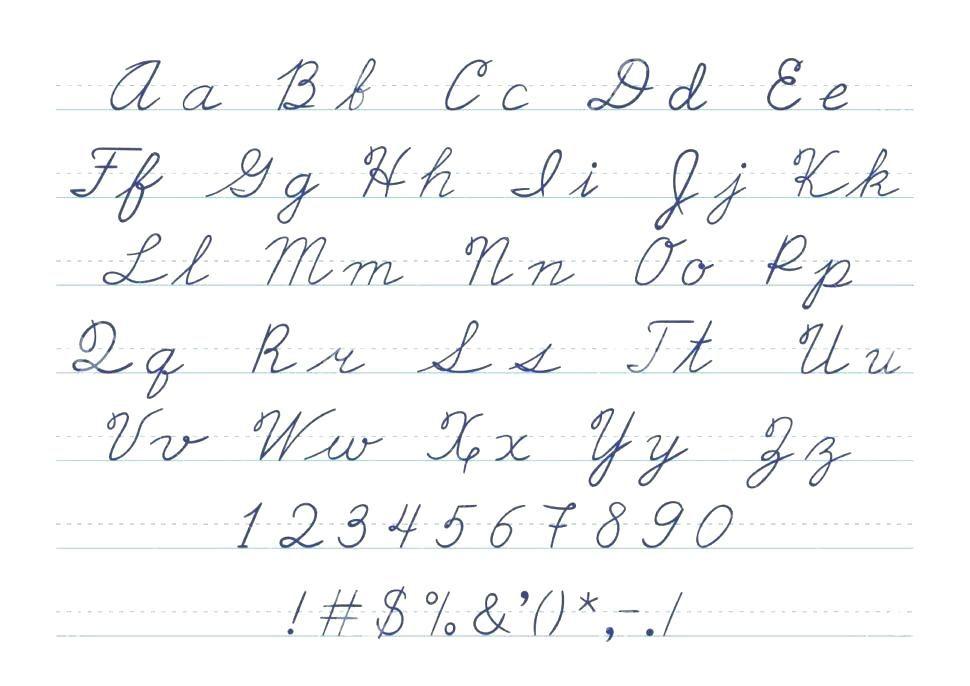 Zaner Bloser And D Nealian Handwriting Sheets Cursive Writing Practice Sheets Phonics Worksheets Free Phonics Worksheets Grade 1