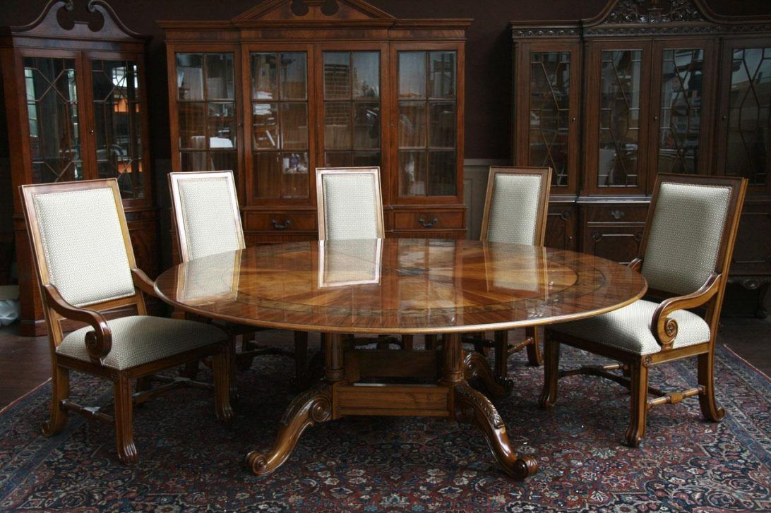 Large Round Dining Table Seats Room Marvelous Photos Best ...