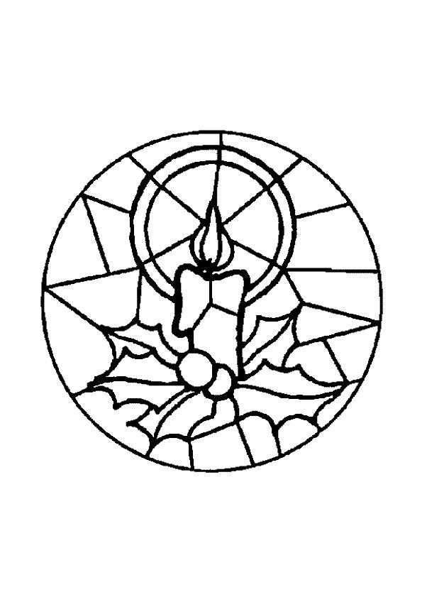 Kleurplaat Mandala kleurplaten (5313) | Kerst | Mandales | Pinterest ...