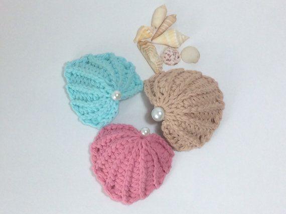 Crochet Pattern Pdf Pattern Seashell Mermaid Top Pattern Hkeln