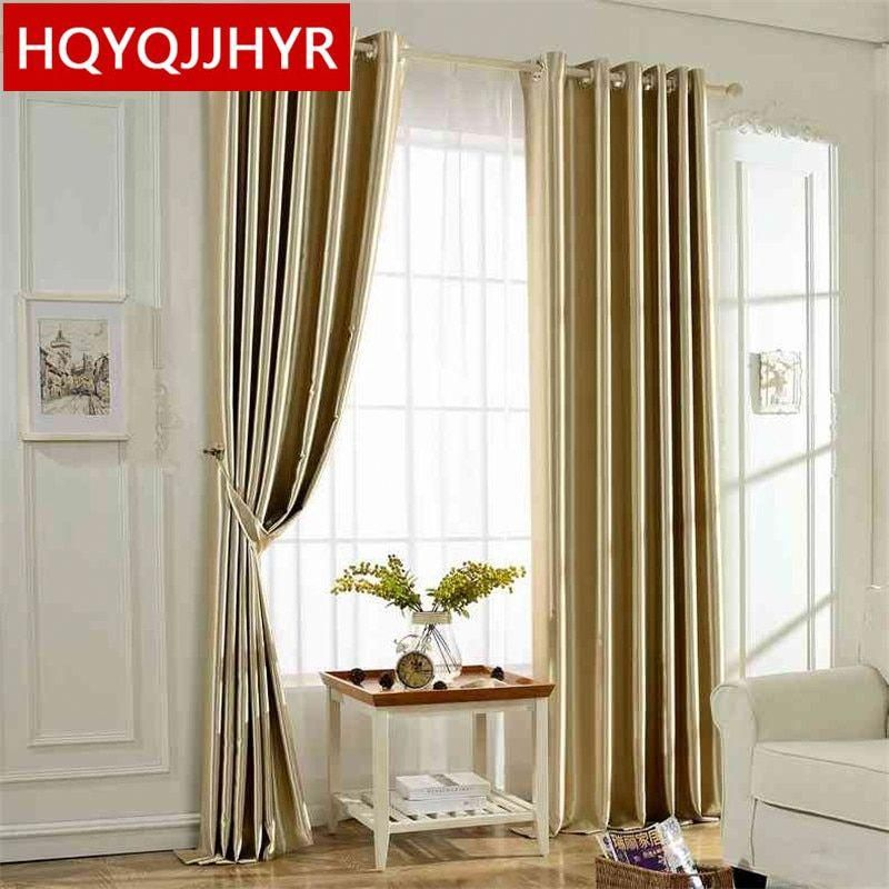 Modern Finished Bedroom Curtains Blackout Curtains Blackout Fabric