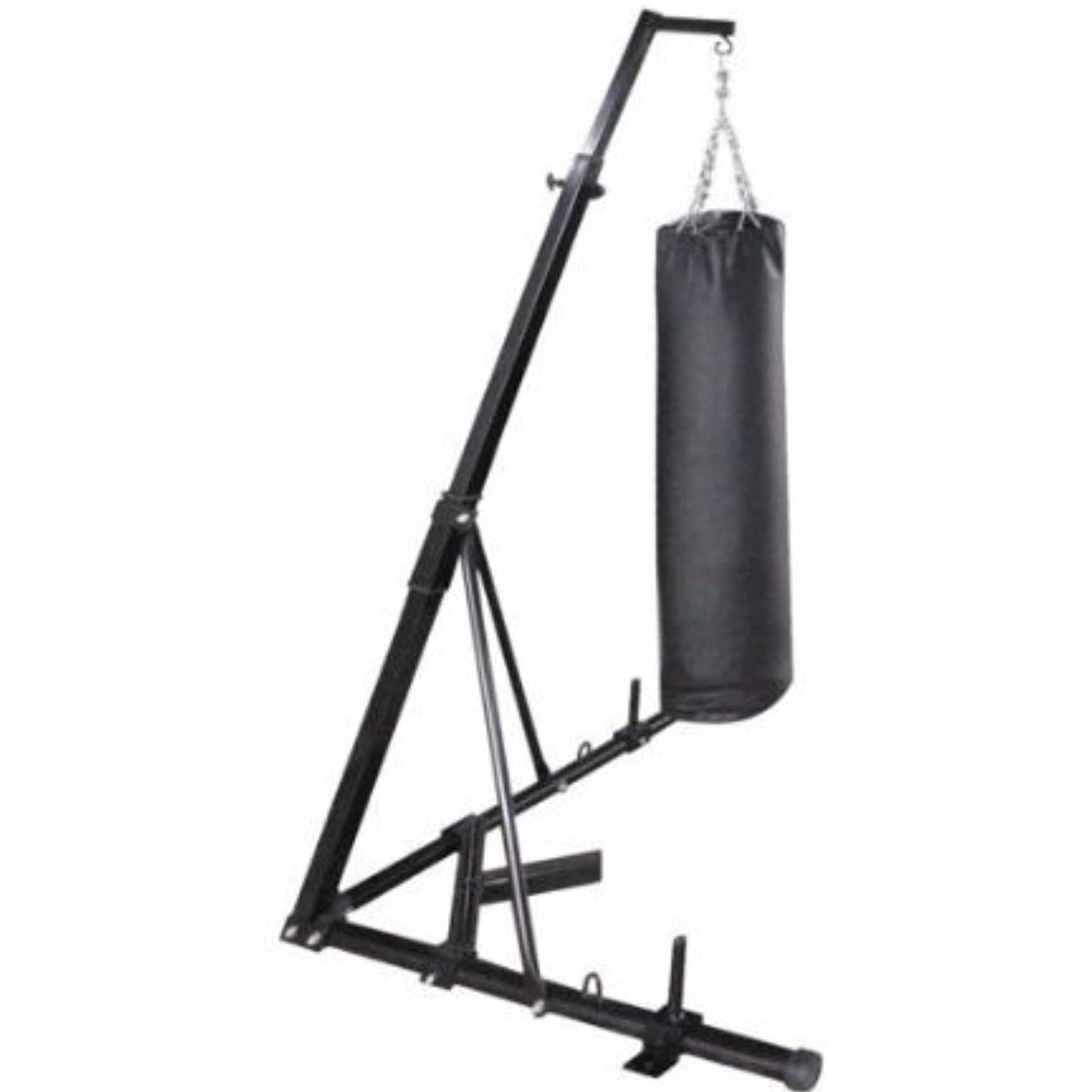 Happybuy free standing boxing bag stand foldable single