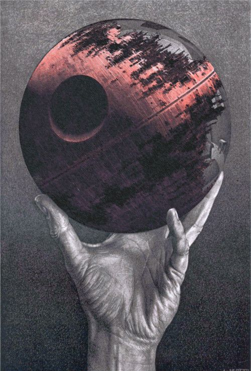 Death Star  Escher....