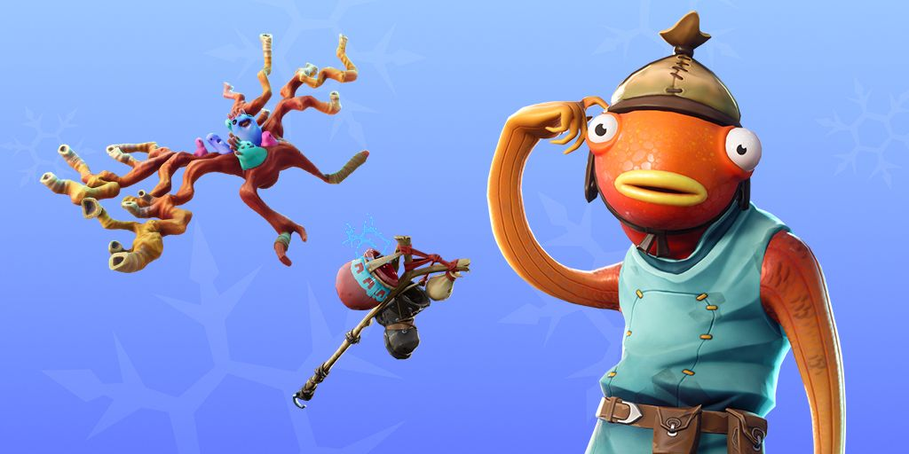 Fortnite Item Shop 27th December New Fishstick Skin Bootstraps
