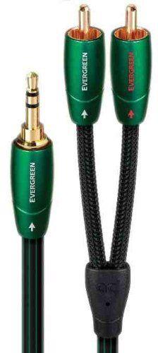 "Audioquest Evergreen Audio Interconnect 5m (16'5"") 3.5mm"