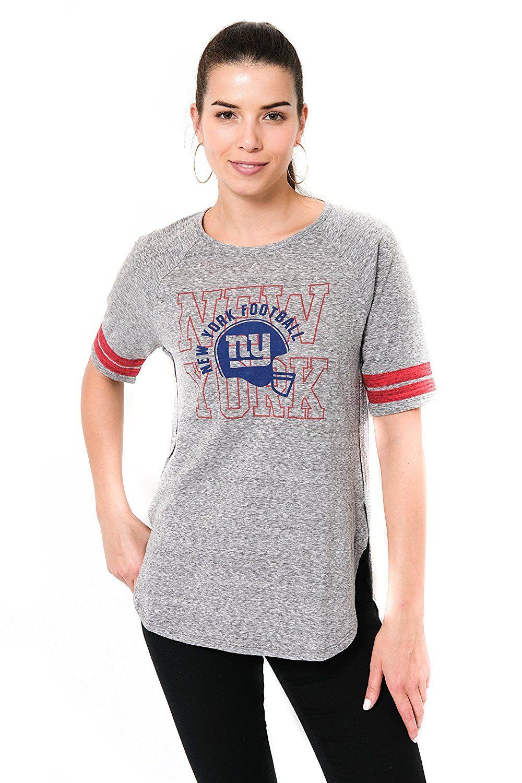 finest selection 408ac 34aa2 Amazon.com: NFL Women's New York Giants T-Shirt Vintage Soft ...