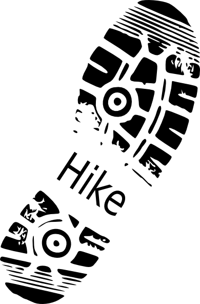 hike shoe print clip art vector clip art online royalty free rh pinterest com hiking boot print clip art army boot print clip art