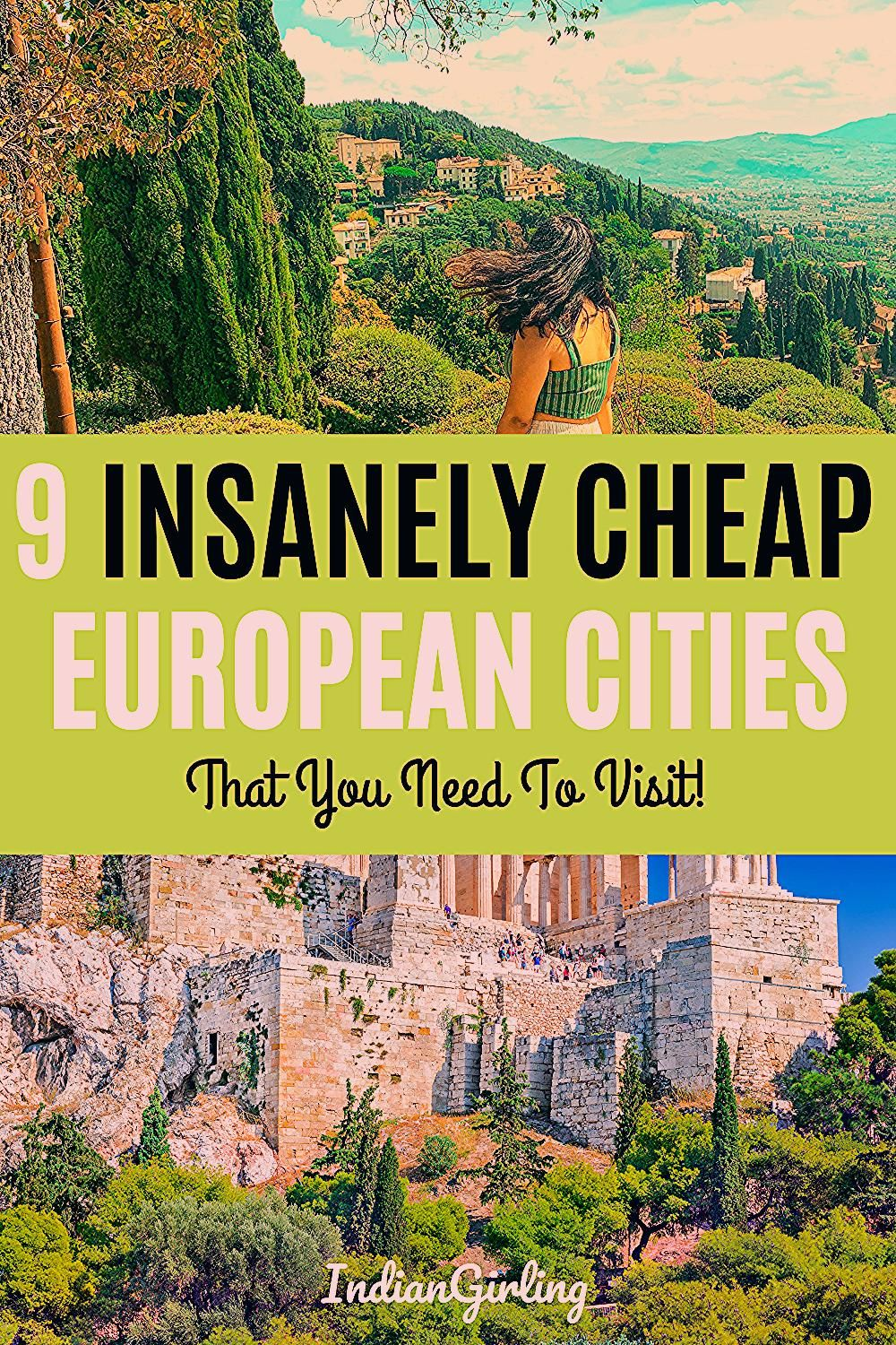 Photo of 9 Insanely Cheap European Cities
