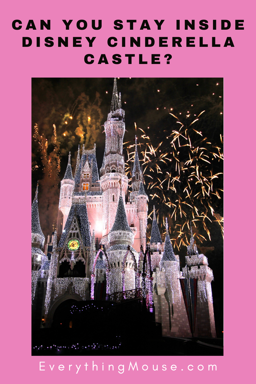 how to stay at cinderella castle suite