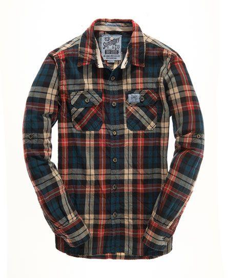 770ef0cd5a15 Mens - Lumberjack Twill Shirt in United Check