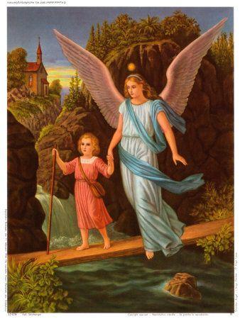 Heilige Schutzengel Print