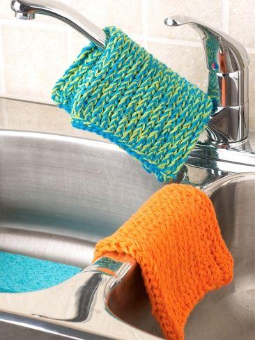 Kitchen Accessories - Large Dishcloth   Yarn   Free ...