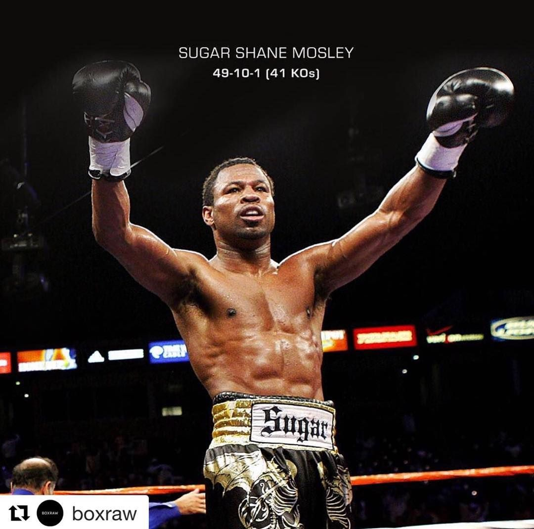 Sugar shane mosley and his son