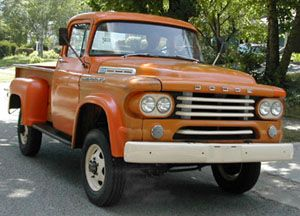 1958 Dodge Power Wagon 6 Cyl Flat Head Old Dodge Trucks Dodge Power Wagon Power Wagon