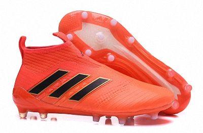 quality design 8122d c77b2 2018 FIFA World Cup Men Adidas ACE 17+ Purecontrol SG Orange Black BY2188