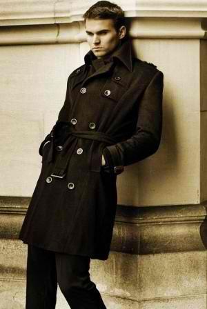 Long Coats For Men Coat, Trench Coat Male Celebrities