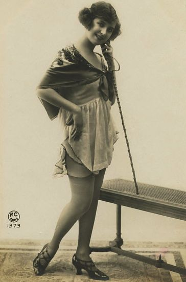 Saucy 1920s Postcard