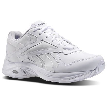 reebok shoes men's walk ultra v dmx max 4e in white/flat