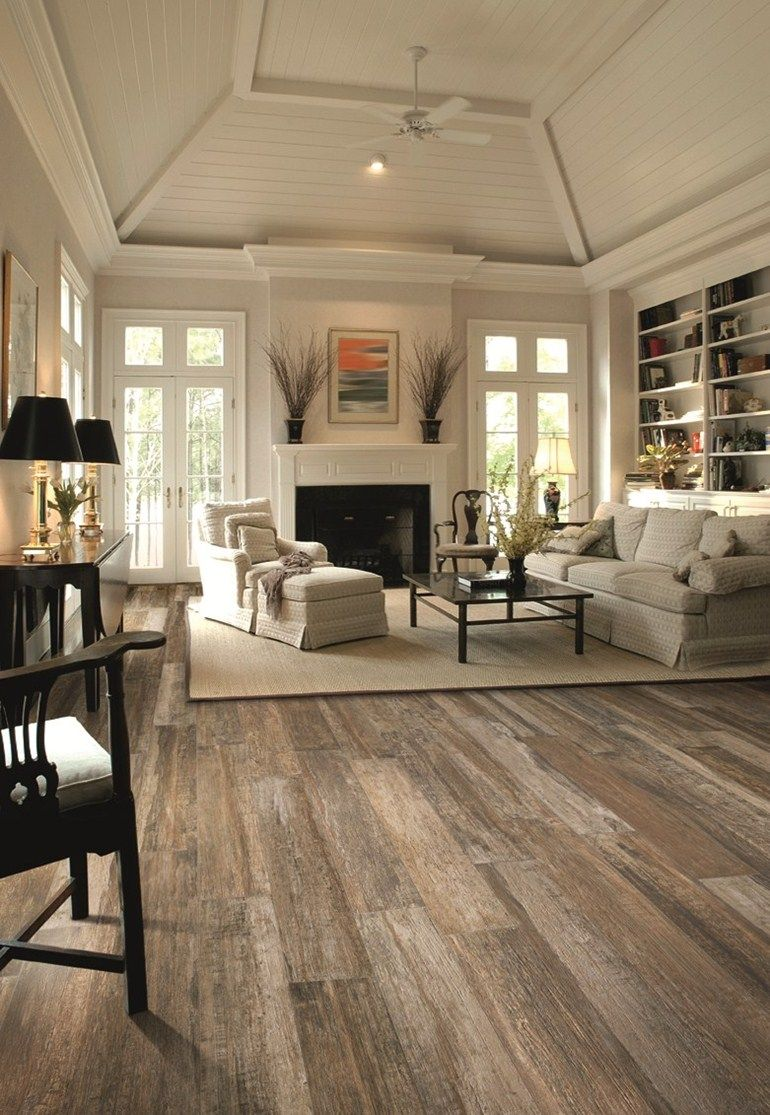 Rustic Modern Polished Raw Beauty A Polished Rustic Look That Sounds Like It Couldn T Go Together Polished Rustic But Does Home New Homes House Styles