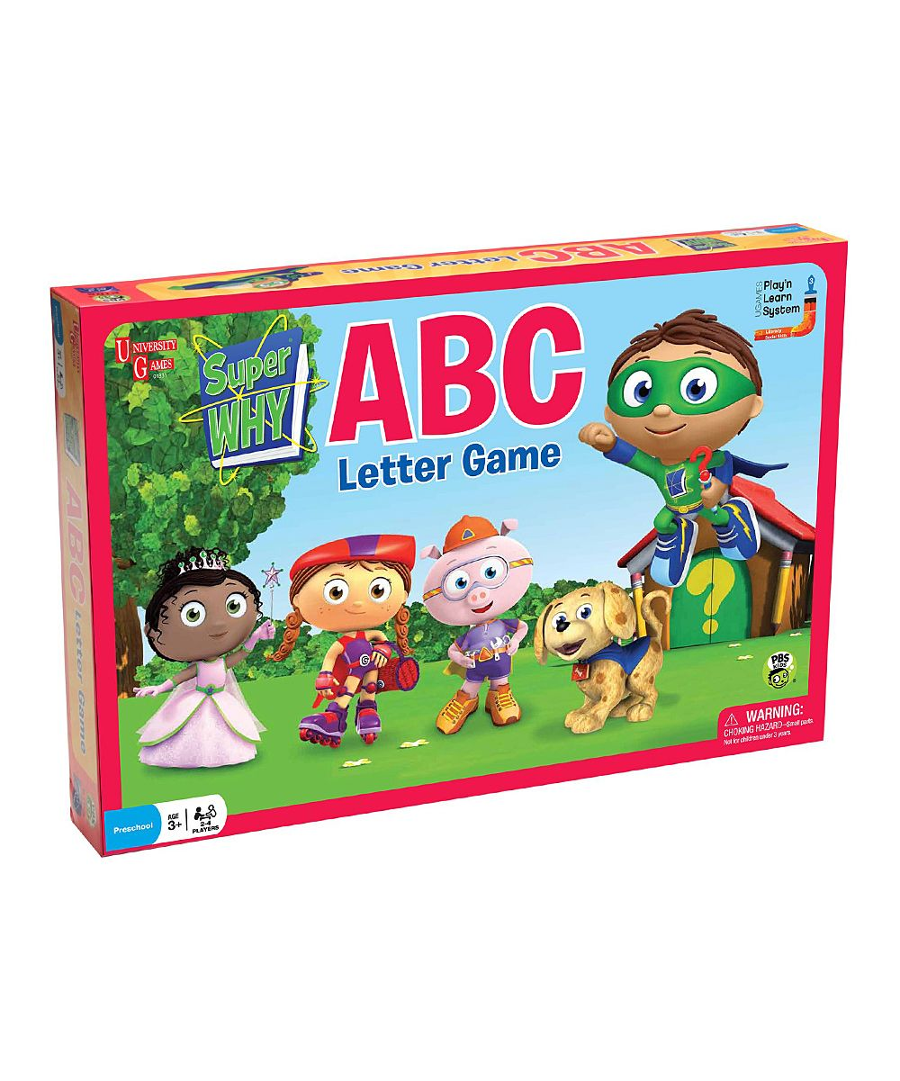 Super Why Abc Letter Game  Daily Deals For Moms Babies And Kids