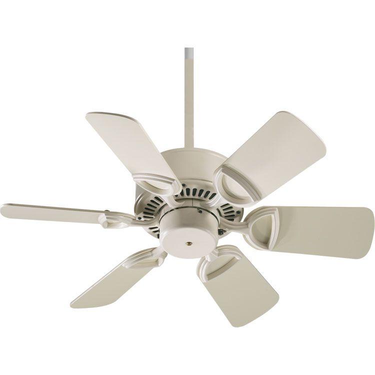 Quorum Estate 30 Ceiling Fan In Antique White Ceiling Fan