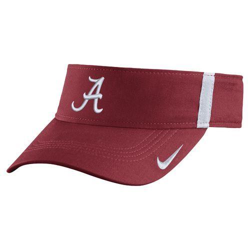 20a9211ab73 Nike™ Men s University of Alabama AeroBill Sideline Visor (Red Medium