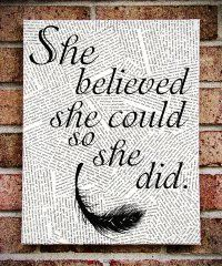 Where the Wild Things Are - Quote on Canvas Art - Graduation / Going Away gift…