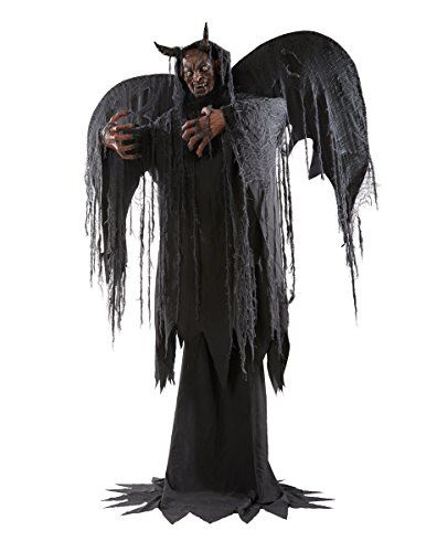 spirit halloween 6 ft forest demon animatronics demon animated animatronics halloween halloweenparty hauntedhouse halloweeddecor