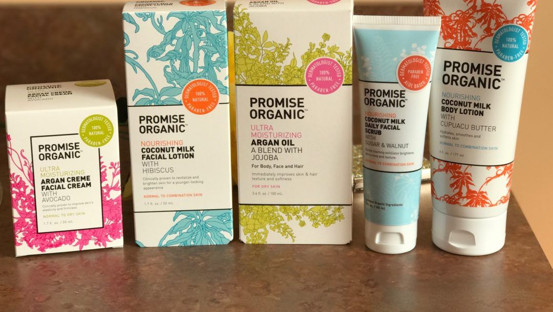 Basically Anything From Promise Organic Skincare Products Neversaydiebeauty Com Organic Skin Care Organic Facial Lotion Organic Coconut Milk