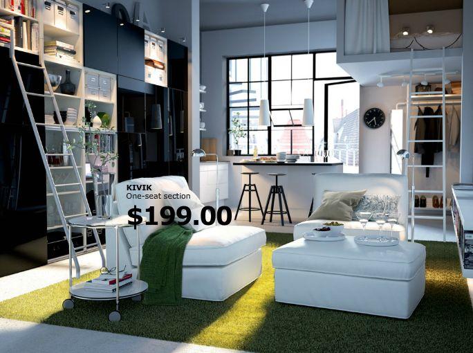 Ikea Compact Living Small Apartment Design