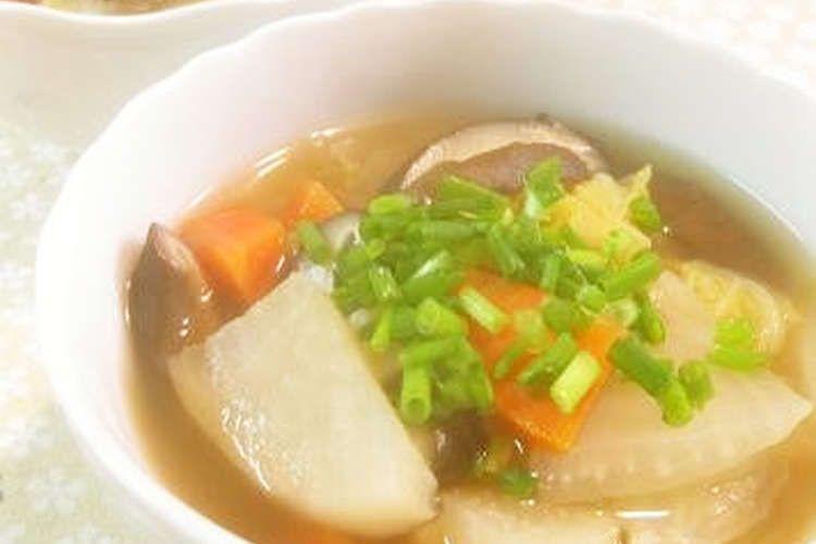 スープ の 作り方 コンソメ コンソメスープの作り方