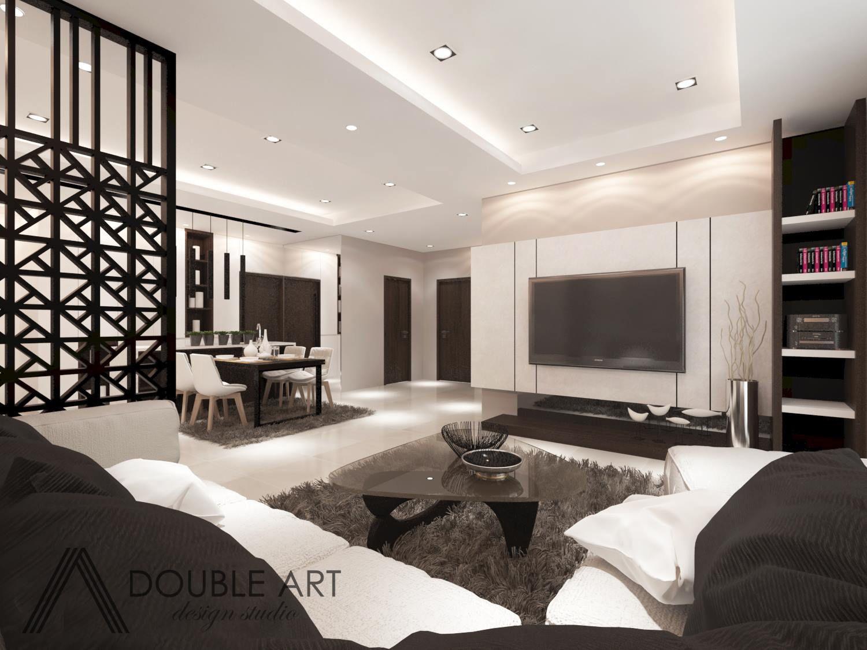 Reno2you Com Double Art Design Studio Royal Regent Jalan Kuching Apartment Design Mediterranean Living Rooms Contemporary Bedroom Design