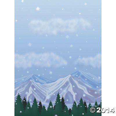 Decorations 30 Ft X 4 Ft Design A Room Mountain