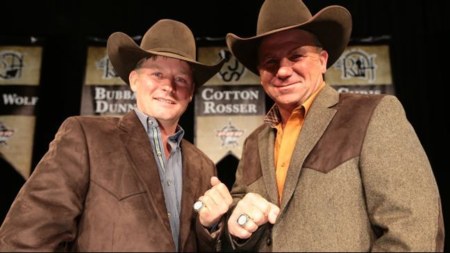 Chris Shivers And Bubba Dunn Were Inducted Into The Pbr S