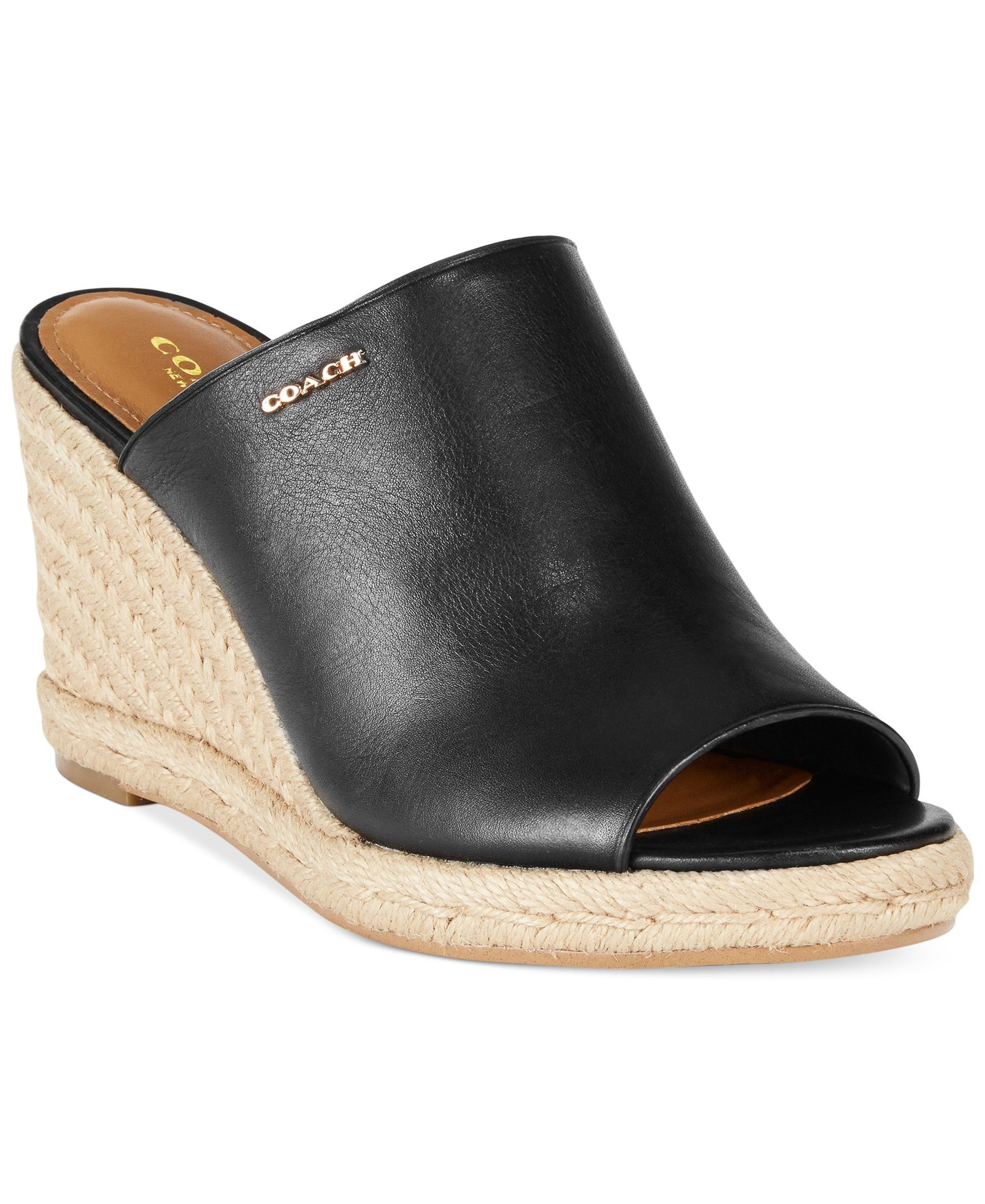 c288538196b Coach Gayle Espadrille Wedge Sandals   I❤️ espadrilles ...