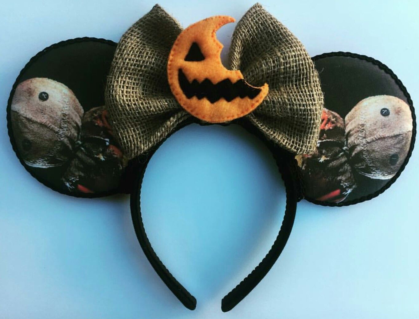 trick r treat minnie mouse disney ears trickrtreat sam halloween
