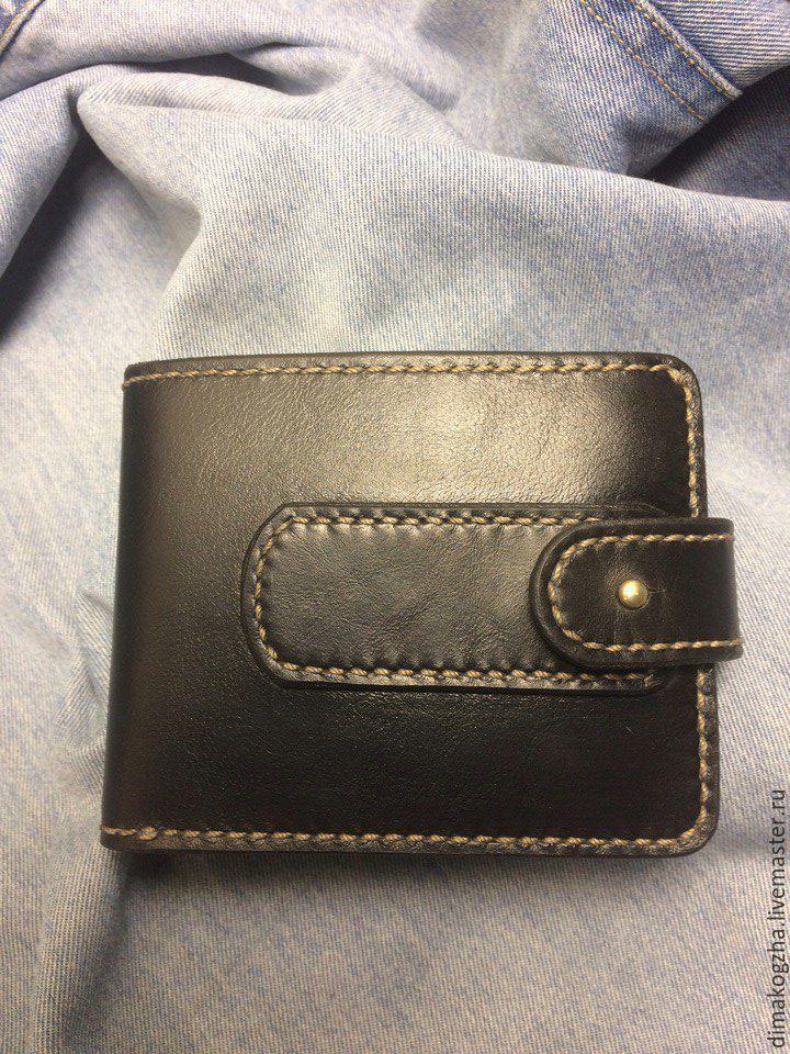 8e95b634c834 Купить портмоне мужское натуральная итальянская кожа в интернет магазине на Ярмарке  Мастеров