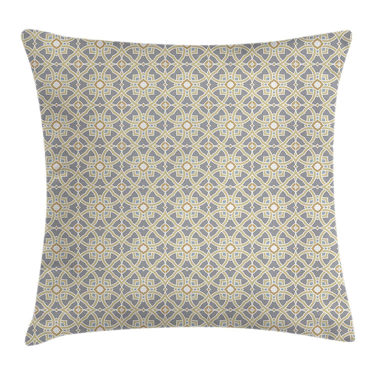 Geometric Decor Throw Pillow Cushion Cover By Ambesonne Arabesque