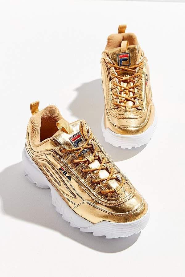 95872c9493c FILA Disruptor II Metallic Sneaker in 2019