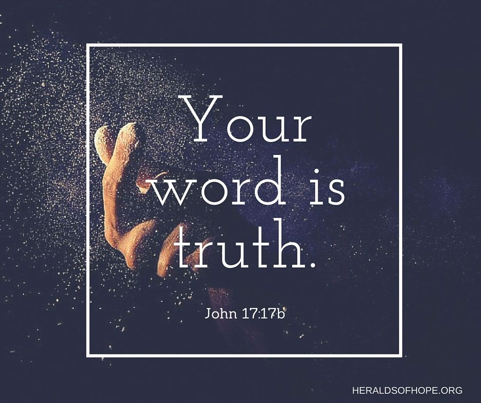 your word is truth john 17 17