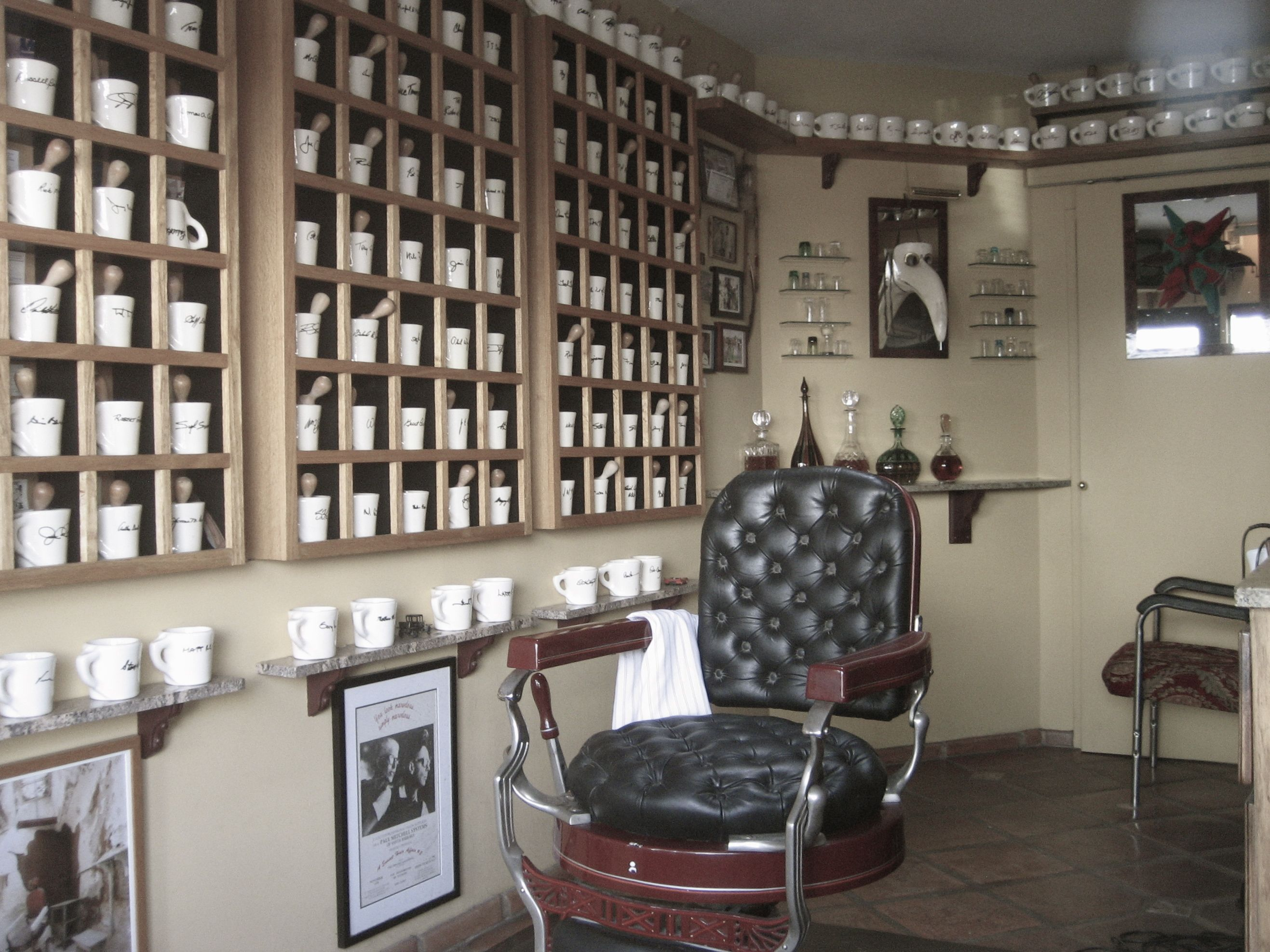 Barber Shop Design Ideas black beard barbershop by bv studio moscow russia Barber Shop Decor Ideas 1