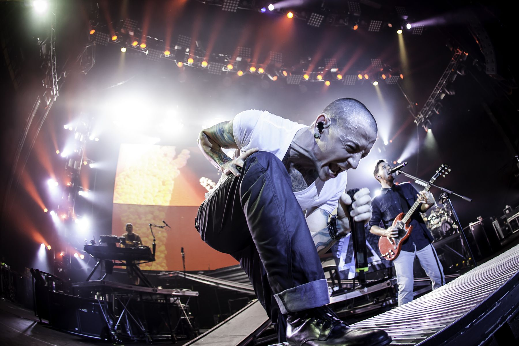 Linkin Park Live In Camden New Jersey Linkin Park Wallpaper