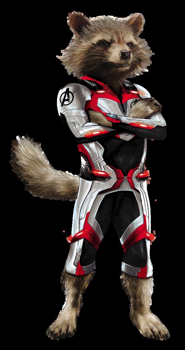 Quantum Suit Rocket Avengers End Game Render By Alanmac95 Rocket Raccoon Marvel Characters Art Avengers Pictures
