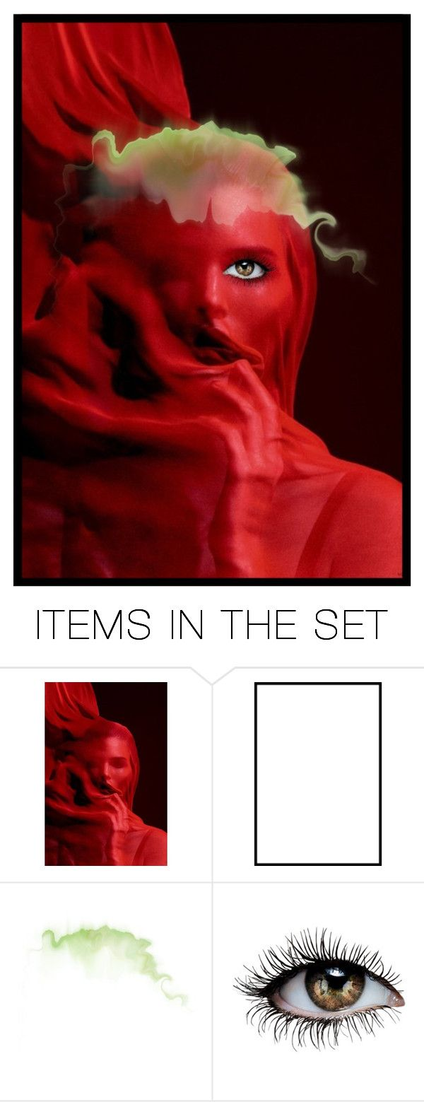 """""""the birth of evil"""" by sum1smuse ❤ liked on Polyvore featuring art and spookyhalloweencontest"""