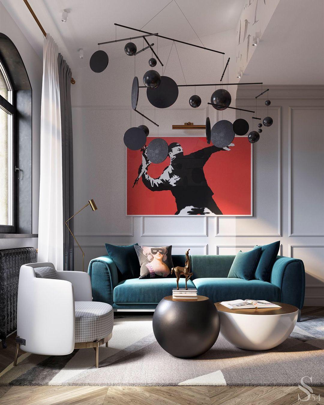 Apartment Interior, Apartment Interior