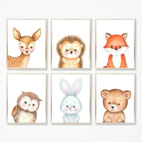 Baby Animal Prints, Baby Wall Art, Babies Room, Forest Animal Nursery Prints, Woodlands Nursery Decor, Nature Nursery, Outdoor Theme Nursery -   - #animal #animalsstocking #animeecchi #art #babies #Baby #babybirds #bigsisterpresent #birthdaypresentideasforsister #christophegiacometti #cuteanimalsquotes #decor #diygiftideasforsister #forest #forestanimals #nature #nursery #outdoor #photoshopedanimals #prints #quotesanime #Room #shiroanime #sistermissionarygifts #thanksvideos #theme #videoon #Wal