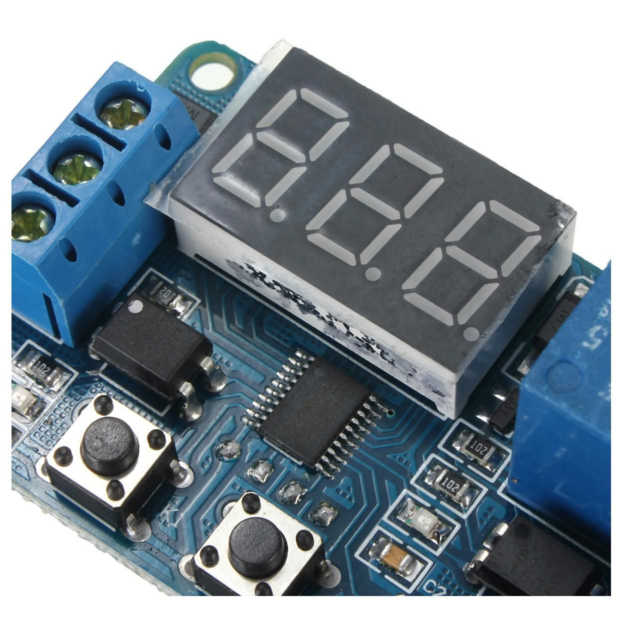 Jfbl 2x Automation Dc 12v Led Display Digital Delay Timer Control Price Of Relay Switch Module Yesterdays Us 864 753 Eur Todays 804 701