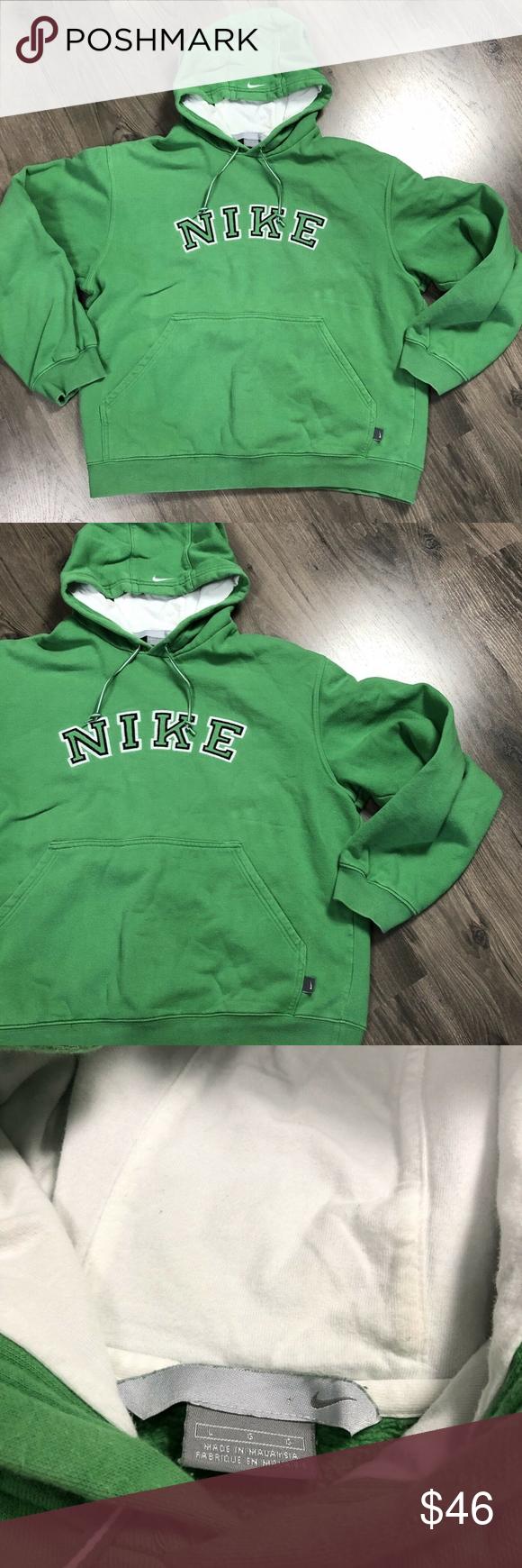 Vintage Nike Mens Sweatshirt Hoodie Spell Out Vintage Nike Hoodie Sweatshirt With Spell Out And Swo Mens Sweatshirts Hoodie Mens Sweatshirts Sweatshirts Hoodie